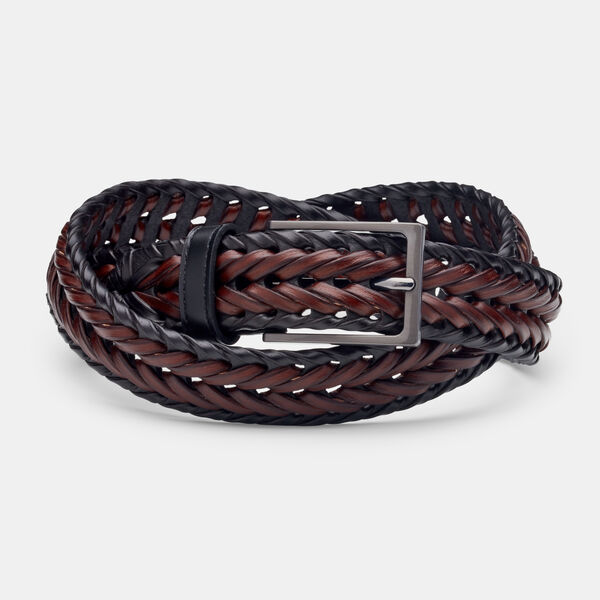 OFANTO BELT, Black/Tan, hi-res