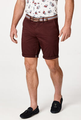 NORMAN SHORT , Dark Burgundy, hi-res