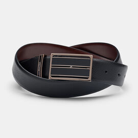 KEIRAN BELT, Black/Dark Tan, hi-res
