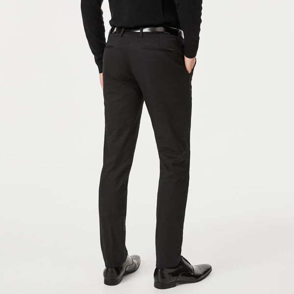 HIGHBURY DRESS CHINO, Black, hi-res