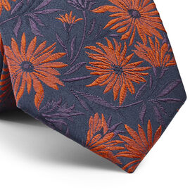 BRINLEY TIE, Orange, hi-res