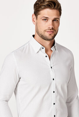 DOMASO SHIRT, White/Navy, hi-res