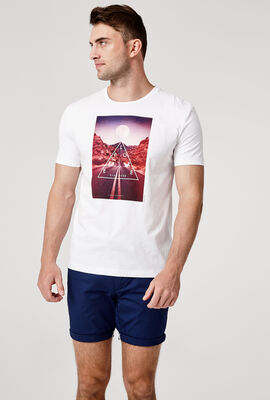 DORIA T-SHIRT, White/Multi, hi-res