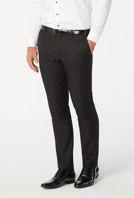 CUTHBERT SUIT PANT, Black Chintz, hi-res