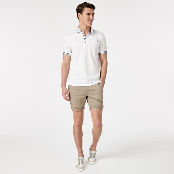 LORRY POLO SHIRT, White, hi-res
