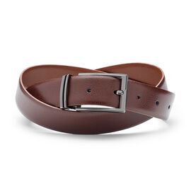 GRECCIO BELT, Dark Tan/Light Tan, hi-res