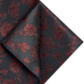 ATOLIA POCKET SQUARE, Red, hi-res