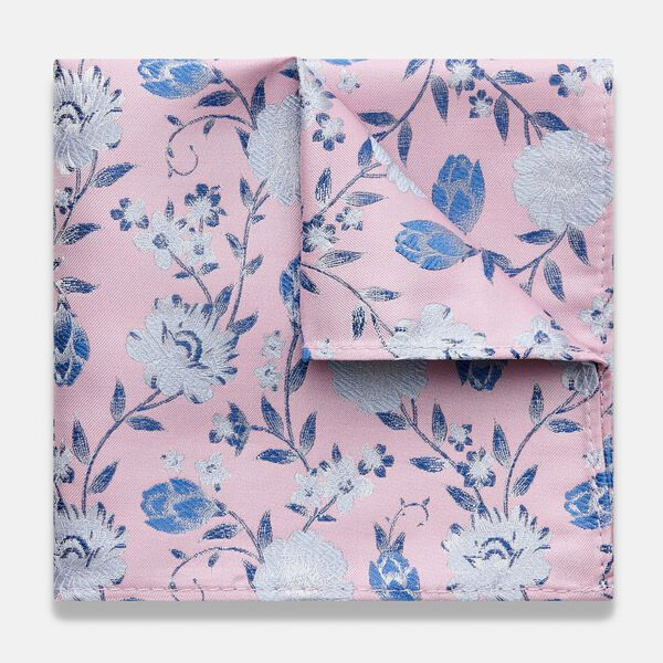 ANELA POCKET SQUARE, Light Pink, hi-res