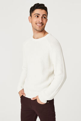 ARRONE KNITWEAR, Off White, hi-res