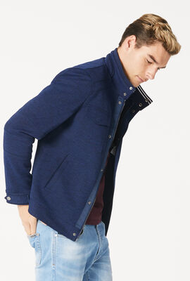 HODGSON CASUAL JACKET, Navy, hi-res