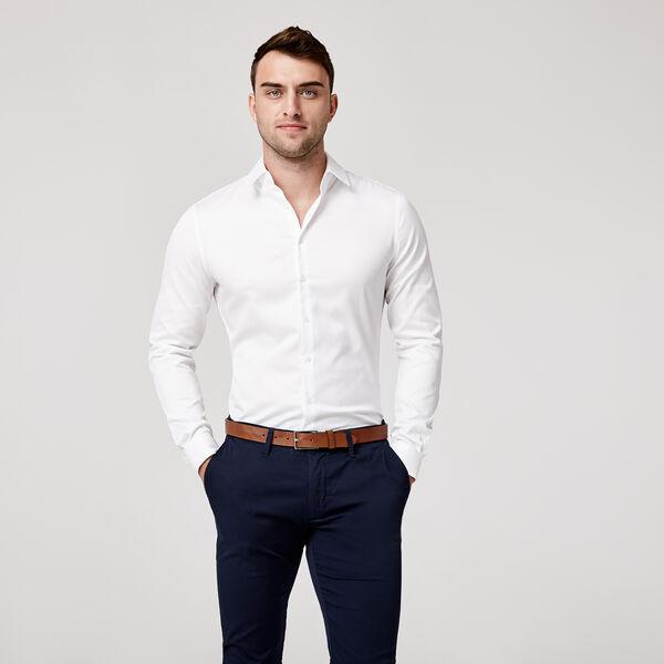 Kew Shirt, White, hi-res