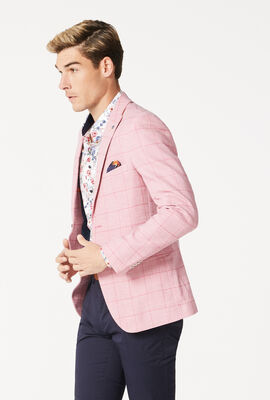 KINGSWOOD, Pink Check, hi-res