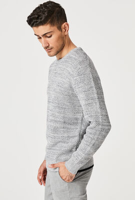 HONEY KNITWEAR, White/Navy, hi-res