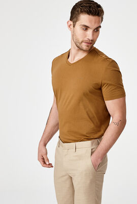 LOMASO T-SHIRT, Dark Tan, hi-res
