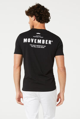 2020 MOVEMBER CAMPAIGN TEE, Black/White, hi-res