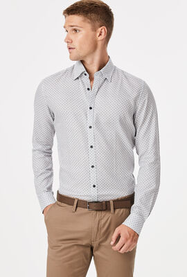 Tesina Shirt, White/Navy, hi-res