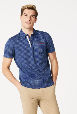 PINOI POLO SHIRT, Navy/White, hi-res