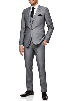 FELINO SUIT PANT, Grey, hi-res