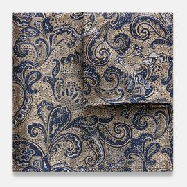 PIRAGO POCKET SQUARE, Beige, hi-res