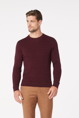 BUNDY KNITWEAR, Plum, hi-res