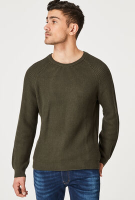 ARRONE KNITWEAR, Khaki, hi-res
