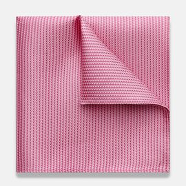 ADELFIA POCKET SQUARE, Light Pink, hi-res