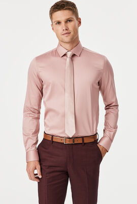 Edisson Shirt, Dusty Pink, hi-res