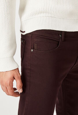 KENNARD JEANS, Burgundy, hi-res