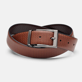 BYRAM BELT, Brown/Light Tan, hi-res
