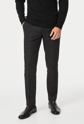 Tomm Suit Pant, Black Fleck, hi-res