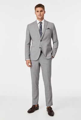 Midhurst Suit Jacket, Light Grey, hi-res