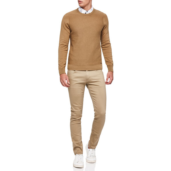 CREWSHILL KNITWEAR, Tan, hi-res