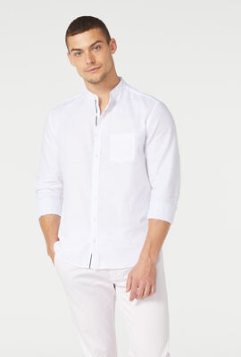 PONSONBY SHIRT, White, hi-res