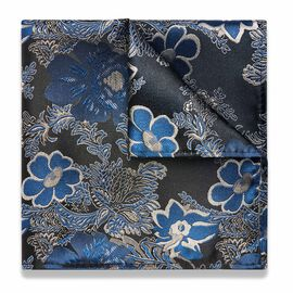 ARAMO POCKET SQUARE, Royal, hi-res