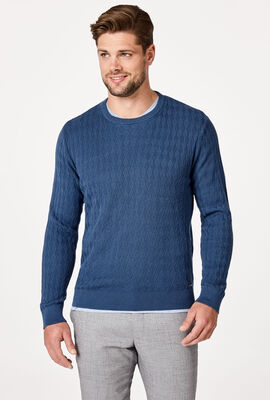BUNDY KNITWEAR, Smoke Blue, hi-res