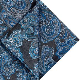 FARNETO POCKET SQUARE, Royal, hi-res