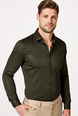 Edisson Shirt, Khaki, hi-res