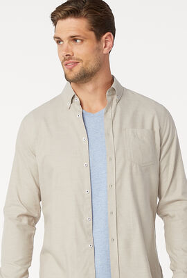 FEDI SHIRT, Tan, hi-res