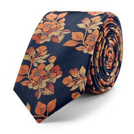 BASICO TIE, Orange, hi-res