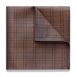 MILETO POCKET SQUARE, Gold, hi-res