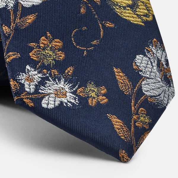 SIVIANO TIE, Yellow, hi-res