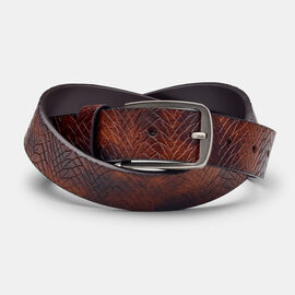ARDENZA BELT, Dark Brown, hi-res