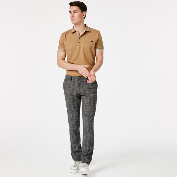 LORRY POLO SHIRT, Sand, hi-res