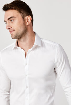 Edisson Shirt, White, hi-res