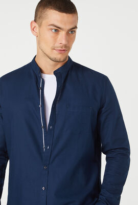PONSONBY SHIRT, Navy, hi-res
