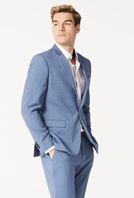 RYDERS SUIT JACKET, Slate/Blue, hi-res