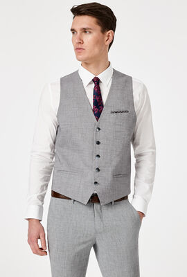 KILBURN VEST, Light Grey, hi-res