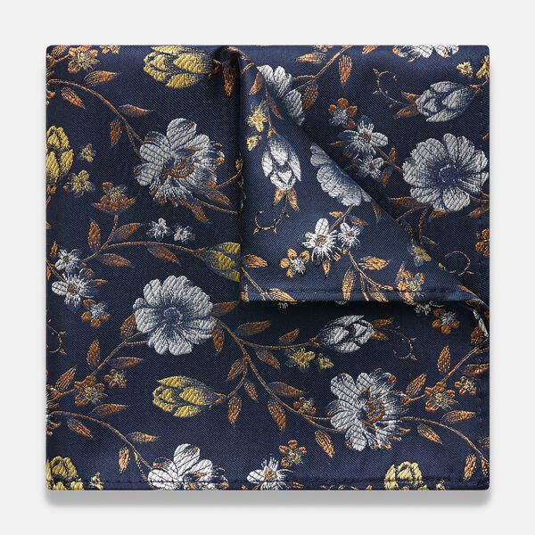 ANELA POCKET SQUARE, Yellow, hi-res