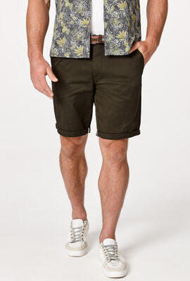NORMAN SHORT , Deep Khaki, hi-res
