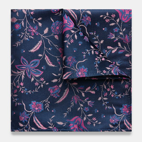 LINERA POCKET SQUARE, Fuchsia, hi-res